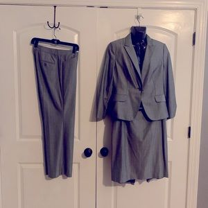 Express 3 piece woman's pin stripped suit